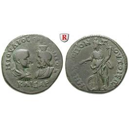 Römische Provinzialprägungen, Thrakien, Tomis, Philippus II., Caesar, Bronze 244-247, ss/vz