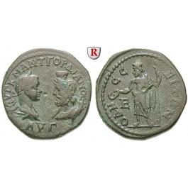 Römische Provinzialprägungen, Thrakien, Odessos, Gordianus III., Bronze 238-244, ss-vz