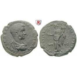 Römische Provinzialprägungen, Thrakien-Donaugebiet, Nikopolis am Istros, Diadumenianus, Caesar, Bronze 217-218, ss