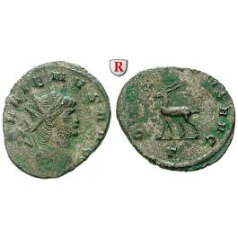Römische Kaiserzeit, Gallienus, Antoninian 260-268, vz