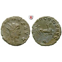 Römische Kaiserzeit, Gallienus, Antoninian 260-268, f.ss/ss+