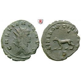 Römische Kaiserzeit, Gallienus, Antoninian, vz/ss+