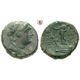 Syrien, Königreich der Seleukiden, Demetrios II., 2. Regierung, Bronze 129-125 v.Chr., f.ss