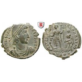 Römische Kaiserzeit, Constantius II., Bronze 350-355, vz