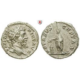 Römische Kaiserzeit, Septimius Severus, Denar 207, ss-vz