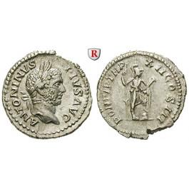 Römische Kaiserzeit, Caracalla, Denar 209, vz/ss