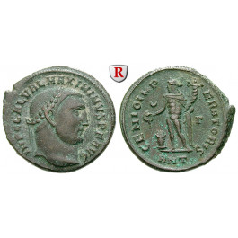 Römische Kaiserzeit, Maximinus II., Follis 309, f.vz