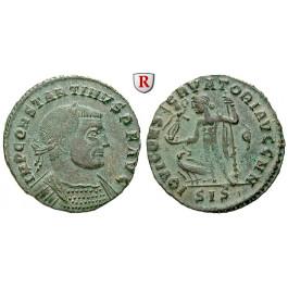 Römische Kaiserzeit, Constantinus I., Follis 313-314, f.vz