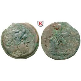 Ägypten, Königreich der Ptolemäer, Ptolemaios VIII., Bronze 145-116 v.Chr., f.ss