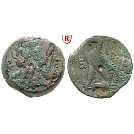 Ägypten, Königreich der Ptolemäer, Ptolemaios V., Bronze Jahr 4 = 202-201 v.Chr., f.ss