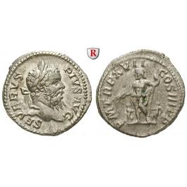 Römische Kaiserzeit, Septimius Severus, Denar 209, ss+/f.ss
