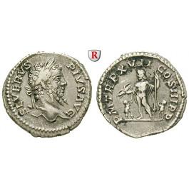 Römische Kaiserzeit, Septimius Severus, Denar 209, ss