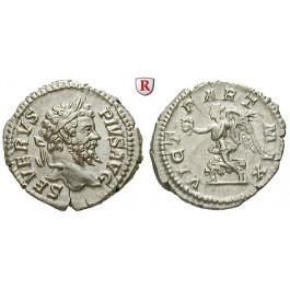 Römische Kaiserzeit, Septimius Severus, Denar 204, vz