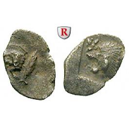 Mysien, Kyzikos, Hemiobol 450-400 v.Chr., s-ss