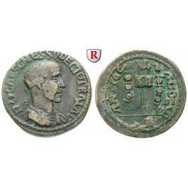 Römische Provinzialprägungen, Pisidien, Antiochia, Traianus Decius, Bronze 249-251, f.ss