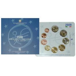 Italien, Republik, Euro-Kursmünzensatz 2009, st