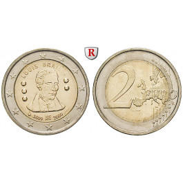 Belgien, Königreich, Albert II., 2 Euro 2009, bfr.