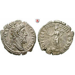 Römische Kaiserzeit, Commodus, Denar 188-189, vz