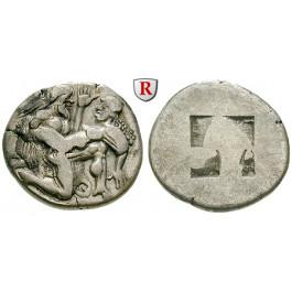 Thrakische Inseln, Thasos, Stater 550-463 v.Chr., ss+