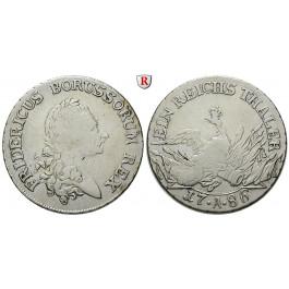 Brandenburg-Preussen, Königreich Preussen, Friedrich II., Reichstaler 1786, ss