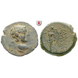 Syrien, Königreich der Seleukiden, Antiochos IX., Bronze Jahr 202 = 111-110 v.Chr., ss