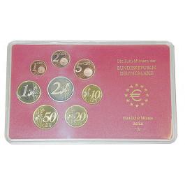 Bundesrepublik Deutschland, Euro-Kursmünzensatz 2009, Einzelsatz, PP