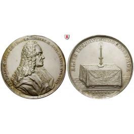 Augsburg, Reichsstadt, Silbermedaille 1740, vz