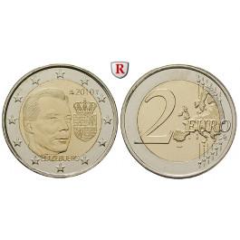 Luxemburg, Henri, 2 Euro 2010, bfr.