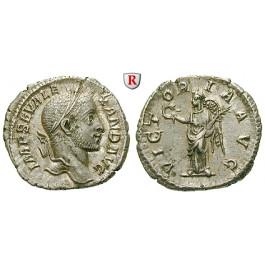 Römische Kaiserzeit, Severus Alexander, Denar 231, f.vz