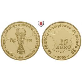 Frankreich, V. Republik, 10 Euro 2005, 7,73 g fein, PP