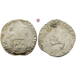 Niederlande, Zwolle, Löwentaler 1644, ss