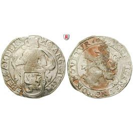 Niederlande, Kampen, Löwentaler 1655, ss