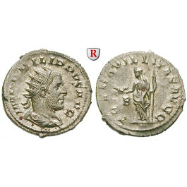 Römische Kaiserzeit, Philippus I., Antoninian 247, f.st