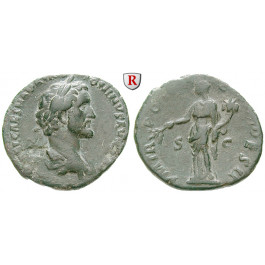 Römische Kaiserzeit, Antoninus Pius, As 138, ss