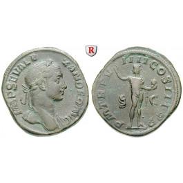Römische Kaiserzeit, Severus Alexander, Sesterz 230, ss+