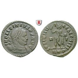 Römische Kaiserzeit, Licinius I., Follis 314, ss