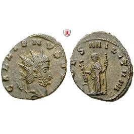 Römische Kaiserzeit, Gallienus, Antoninian 260-268, ss+