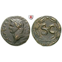 Römische Provinzialprägungen, Seleukis und Pieria, Antiocheia am Orontes, Vespasianus, Bronze, ss