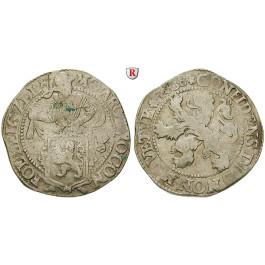 Niederlande, Zeeland, Löwentaler 1638, ss