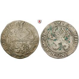 Niederlande, Zeeland, Löwentaler 1615, ss