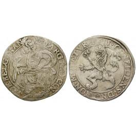 Niederlande, Overijssel, Löwentaler 1615, ss