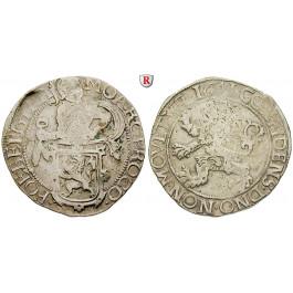 Niederlande, Utrecht, Löwentaler 1654, ss