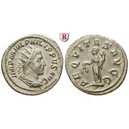 Römische Kaiserzeit, Philippus I., Antoninian 244-247, st