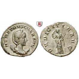 Römische Kaiserzeit, Herennia Etruscilla, Frau des Traianus Decius, Antoninian 249-251, st