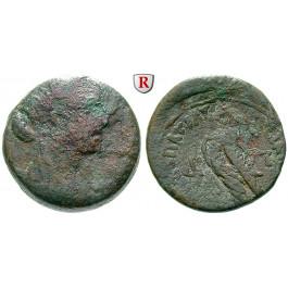 Ägypten, Königreich der Ptolemäer, Kleopatra VII., Bronze 36-34 v.Chr., s