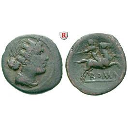 Römische Republik, Anonym, Semuncia 217-215 v.Chr., f.ss