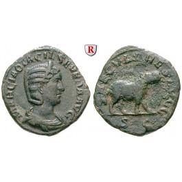 Römische Kaiserzeit, Otacilia Severa, Frau Philippus I., Sesterz 244-249, ss+/f.ss