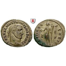 Römische Kaiserzeit, Maximinus II., Caesar, Follis 308-310, vz+
