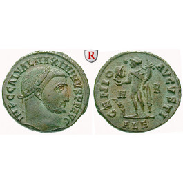 Römische Kaiserzeit, Maximinus II., Follis 312, vz+