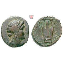 Lesbos, Mytilene, Bronze 250-200 v.Chr., ss
